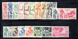 BIG/F - TOGO 1947 , Ordinaria  Yvert Serie N. 236/253  *  Linguellata  (2380A) - Nuovi