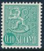 FINLAND, M-63 Lions Definitives 0,10 Type IIS HaP** - Nuovi