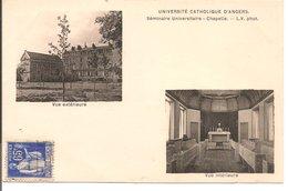 L35B268 - Angers - Université Catholique - Séminaire Universitaire Et Chapelle - L.V - Angers