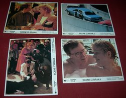 Woody Allen SCENES FROM A MALL Bette Midler 4x Yugoslavian Lobby Cards - Photographs