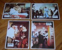 Yu Wang A MAN CALLED TIGER Kawai Okada Wei Lo 4x Yugoslavian Lobby Cards - Foto's