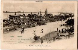 TONKIN - Hanoï - Quai Des Chaloupes Chinoises - Viêt-Nam
