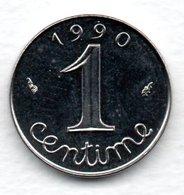 Epi -  1 Centime 1990  -  état SPL - A. 1 Centime