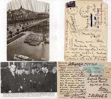 2 CP Adressées A Gabriel Boissy, Ecrivain - L' Une Par L' Ecrivain Robert Chauvelot Ecrivain     (112456) - Historia