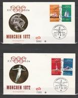 BUND  1972  FDC  Mi718-22   - Ersttagbrief     -   Vedi Foto  ! - FDC: Briefe