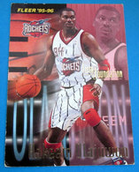 HAKEEM OLAJUWON   CARDS NBA FLEER 1996 N 400 - Trading Cards