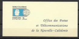 CALEDONIE - 1992 - CARNET YVERT N° 283 ** MNH - COTE = 7.7 EUR. - Markenheftchen