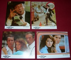 Yves Montand BIG OPERATOR Agostina Belli  4x Yugoslavian Lobby Cards - Foto's