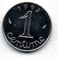 Epi -  1 Centime 1992   -  état SPL - France