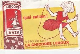 Buvard Publicité Chicorée Leroux - Lebensmittel