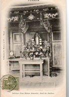 TONKIN - Intérieur D'une Maison Annamite, Hôtel Des Ancêtres - Viêt-Nam