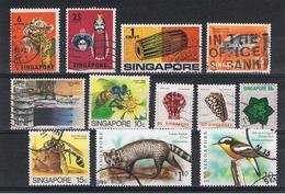 SINGAPORE:  1970/2006  VARI  -  INSIEME  12  VAL. US. - Singapore (1959-...)