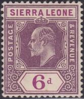 Sierra  Leone   .   SG  .    107       .   *      .    Mint-hinged         .   /    .    Ongebruikt - Sierra Leone (...-1960)