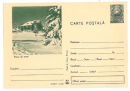 IP 71 - 665 WINTER, Cottage, Mountain, Romania - Stationery - Unused - 1971 - Entiers Postaux