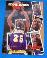 EDDIE JONES   CARDS NBA FLEER 1996 N 434 - Trading Cards