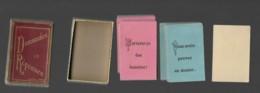 JEU ANCIEN DEMANDES ET REPONSES Dans Sa Boite En Carton Dorée 16 Questions Bleues 15 Roses PARIS - Autres