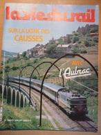 Vie Du Rail  1850 1982 Aubrac Aguessac Peyre Banassac La Canourgue Eiffel Viaduc Garabit Tardes - Trains