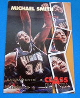 MICHAEL SMITH   CARDS NBA FLEER 1996 N 448 - Trading Cards