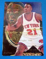 CHARLIE WARD   CARDS NBA FLEER 1996 N 310 - Trading Cards