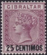 Gibraltar    .   SG  .    17a      .   *        .    Mint-hinged       .   /    .   Ongebruikt - Gibraltar