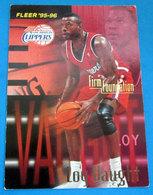 LOY VAUGHT   CARDS NBA FLEER 1996 N 402 - Altri
