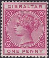 Gibraltar    .   SG  .    40      .   *        .    Mint-hinged       .   /    .   Ongebruikt - Gibraltar