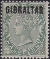 Gibraltar    .   SG  .    1      .   *        .    Mint-hinged       .   /    .   Ongebruikt - Gibraltar
