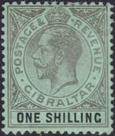Gibraltar    .   SG  .    81b     .   *        .    Mint-hinged       .   /    .   Ongebruikt - Gibraltar