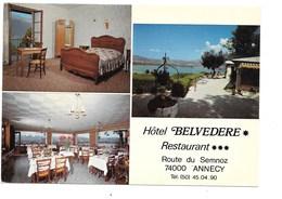 """ANNECY. - Hôtel """"Le Belvédère"""", Restaurant, Route Du Semnoz. - Annecy"""