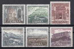 Spagna 1976 Sc. 1959/1964 Turismo Famosi Hotels Las Canadas San Marcos Las Palmas...  Full Set MNH Spain Espana - Settore Alberghiero & Ristorazione