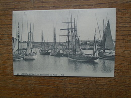 """Cartes D'autrefois , Concarneau , Thonniers Au Port """" Carte Animée Beaux Bateaux """" - Concarneau"""