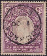 East Africa & Uganda    .   SG  .   27       .   O        .   Cancelled      .   /    .   Gebruikt - Kenya, Uganda & Tanganyika