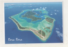 CPM Polynésie. Bora-Bora Vue Aérienne - Polynésie Française