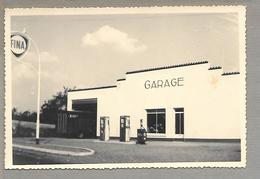 Photo...10x15....ST-PHILBERT-de-BOUAINE...garage AIRIAU....FINA...1960.......... - Automobiles