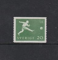 SOCCER FOOTBALL WORLD CHAMPIONSHIP - MUNDIAL 1958 - SWEDEN SCHWEDEN SUEDE MI 439 A MNH - Fußball-Weltmeisterschaft