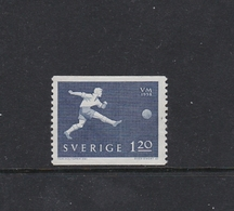 SOCCER FOOTBALL WORLD CHAMPIONSHIP - MUNDIAL 1958 - SWEDEN SCHWEDEN SUEDE MI 440   MNH - Fußball-Weltmeisterschaft