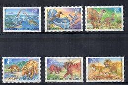 Bulgaria - 1994 - Tematica Animali Preistorici - 6 Valori - Nuovi - Vedi Foto - (FDC14921) - Nuovi