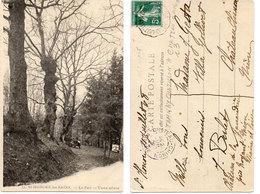 SAINT HONORE LES BAINS - Le Parc - Vieux Arbres - Cachet De Tamnay Chatillon A Chateau-Chinon   (112471) - Saint-Honoré-les-Bains