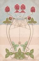 Il Trifoglio E Il Ragno  -  Edit. Theo  Stroefer  -  Serie XIX ( Blumen )  ,  Nr.  4 - Fiori