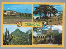 US.- CURACAO N.A.. Views Of Curacao. Stamp Antillen Chevrolet Roadster 1934. - Curaçao