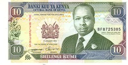 Kenya P.24   10 Shilings 1994 Unc - Kenya