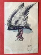 Illustrateur MAX AUREL PARIS - GRAND CHAPEAU YEUX CHOUETTE ? - GROTE HOED MET UIL ? OGEN - Illustrateurs & Photographes
