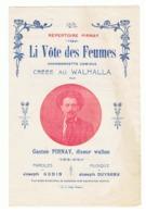 LIEGE - Gaston PIRNAY, Fin Diseur Wallon - Lot Partitions Musicales, Musique, Spectacle, Artiste,...J. Duysenx, J. Godin - Scores & Partitions