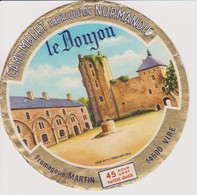 ETIQUETTE CAMEMBERT LE DONJON - Cheese