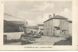 Ac1/              54     Clayeuses     La Mairie & L'école   (animations) - France