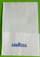 Servilleta,serviette Cafés Lavazza.Portugal - Company Logo Napkins
