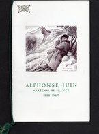 Fascicule Alphonse Juin - Andere