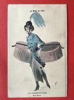 Illustrateur RENE - LA MODE EN 1915 - LA GARDE CIVIQUE - NOS BLUES - BOITES AUX CHAPEAUX - HOEDENDOZEN - Other Illustrators