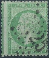 1862 - Mi 19, Yt 20 - Oblitere - 1862 Napoleon III