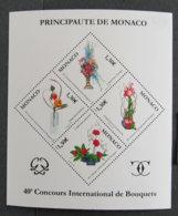 MONACO - 2006 - YT BF 93 ** - 40è Concours International De Bouquets - Unused Stamps